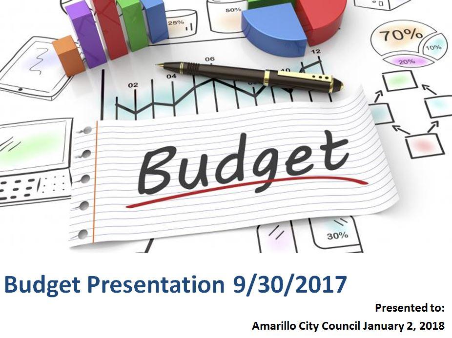 Finance city of amarillo tx quarterly budget presentation malvernweather Images