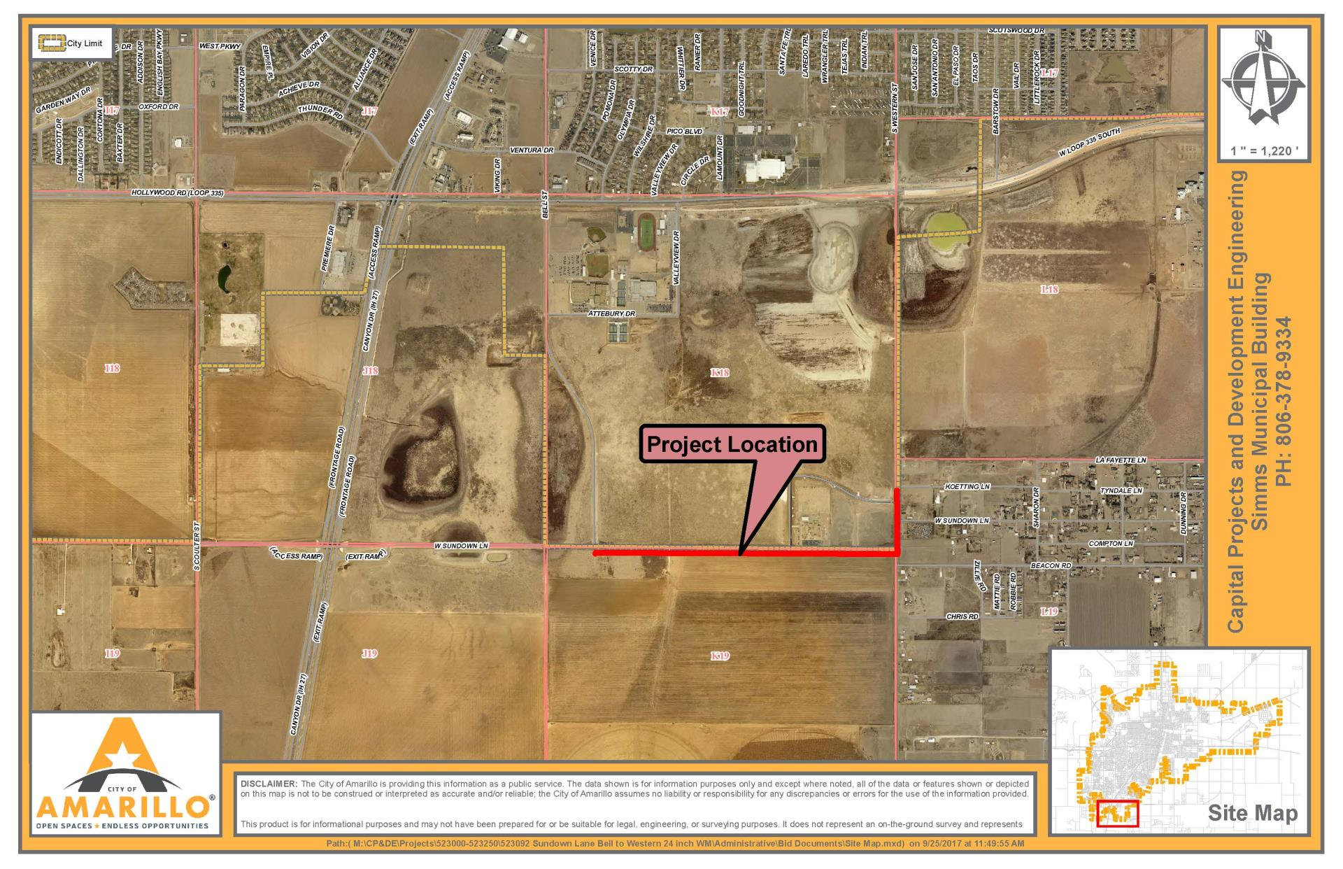 Sundown Lane Water Main Extension Project Public Meeting