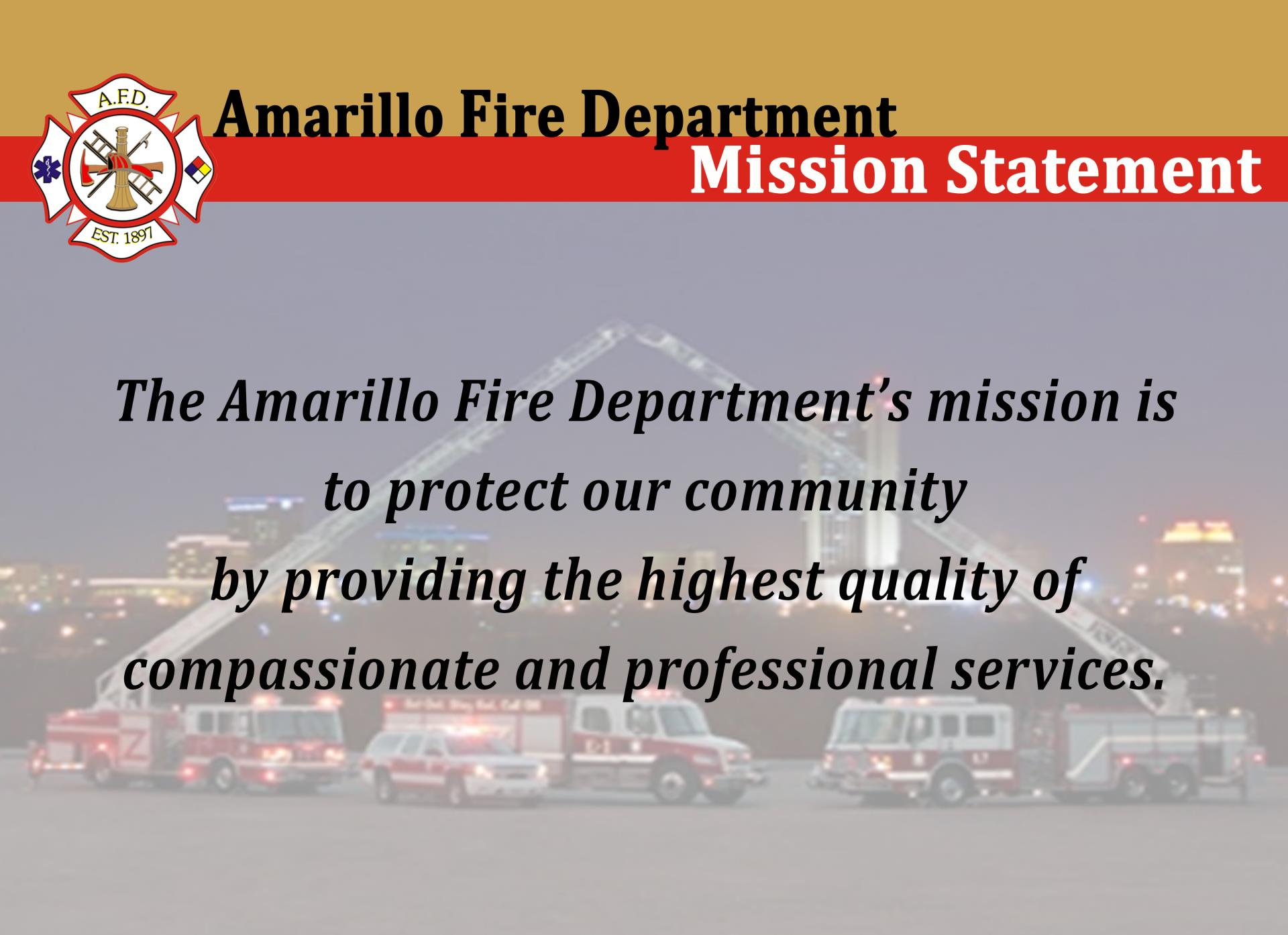 Amarillo fire department city of amarillo tx mission malvernweather Choice Image