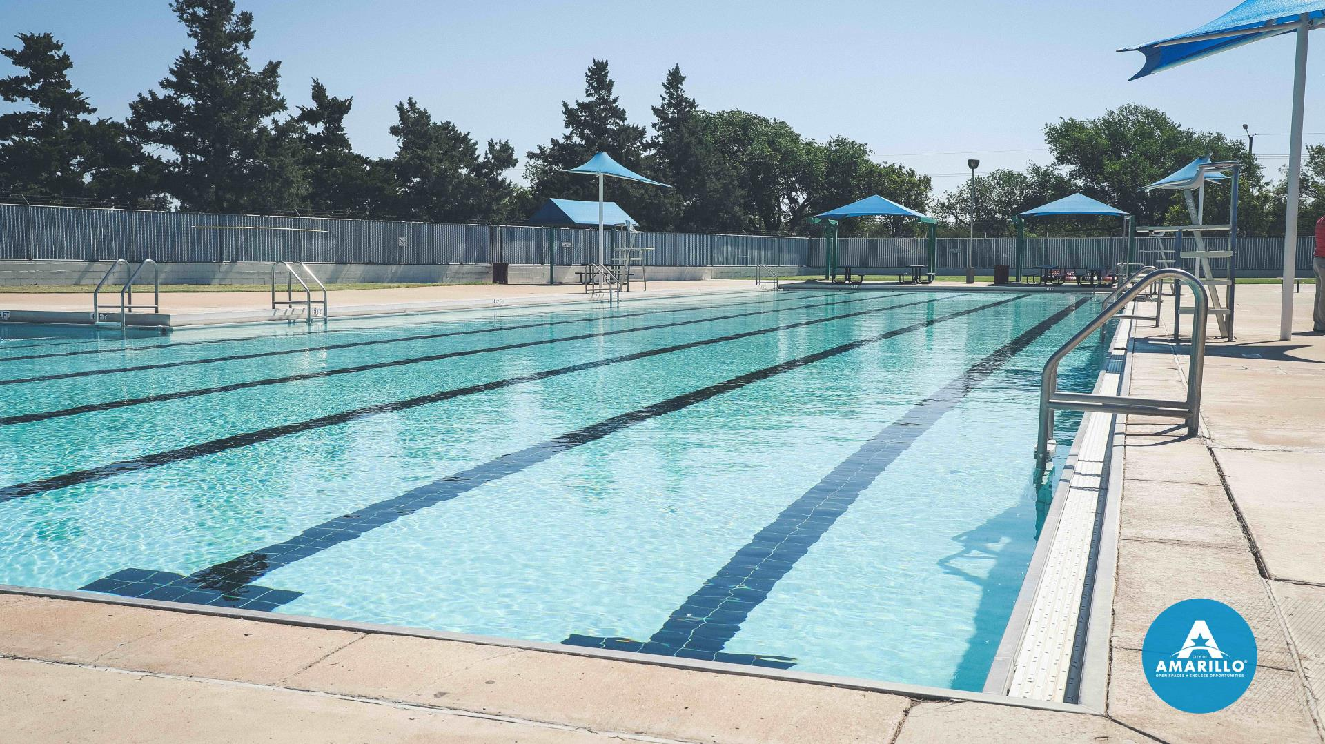 City Pools Open with New Sunscreen Dispensers