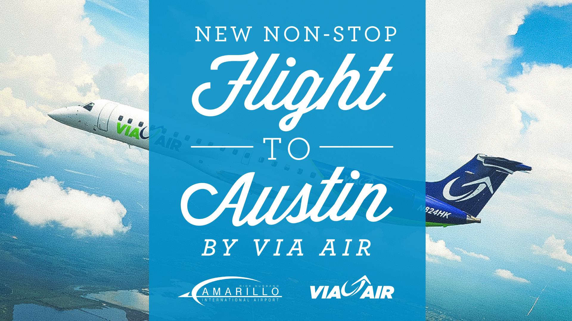 New Direct Flight To-and-From Austin Announced