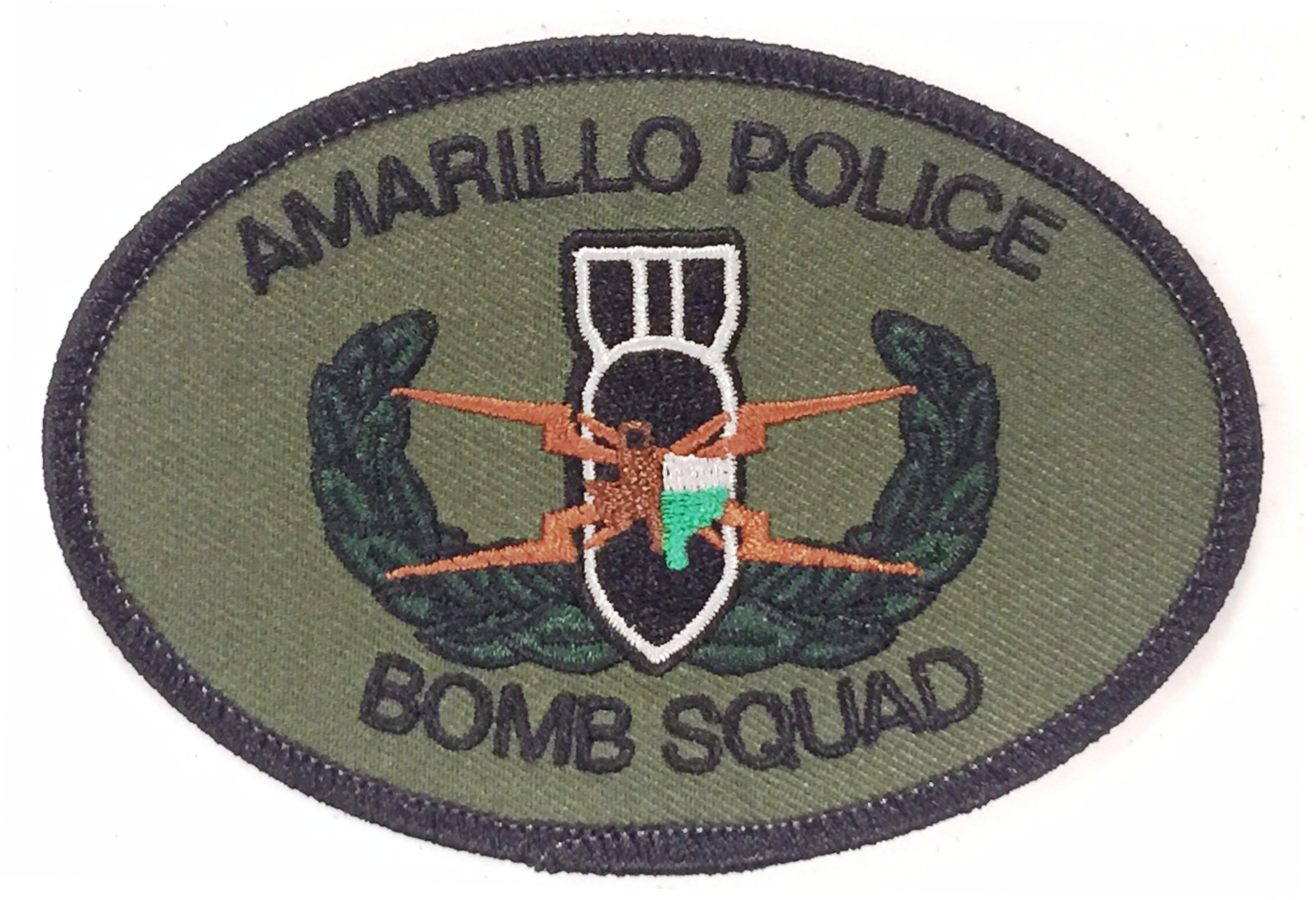 Bomb Squad Patch WEB SITE EDIT