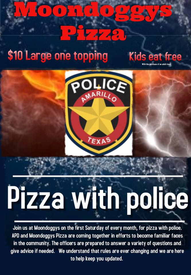 Pizza with Police