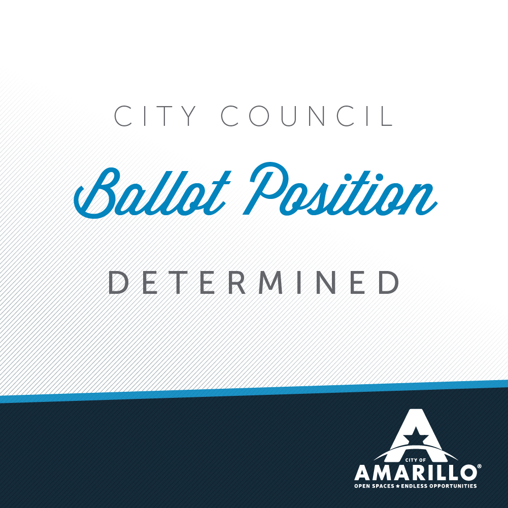 Ballot Position Determined