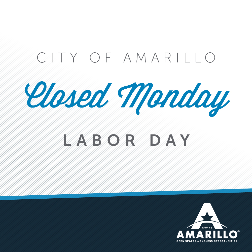 City Hall Offices Closed for Labor Day