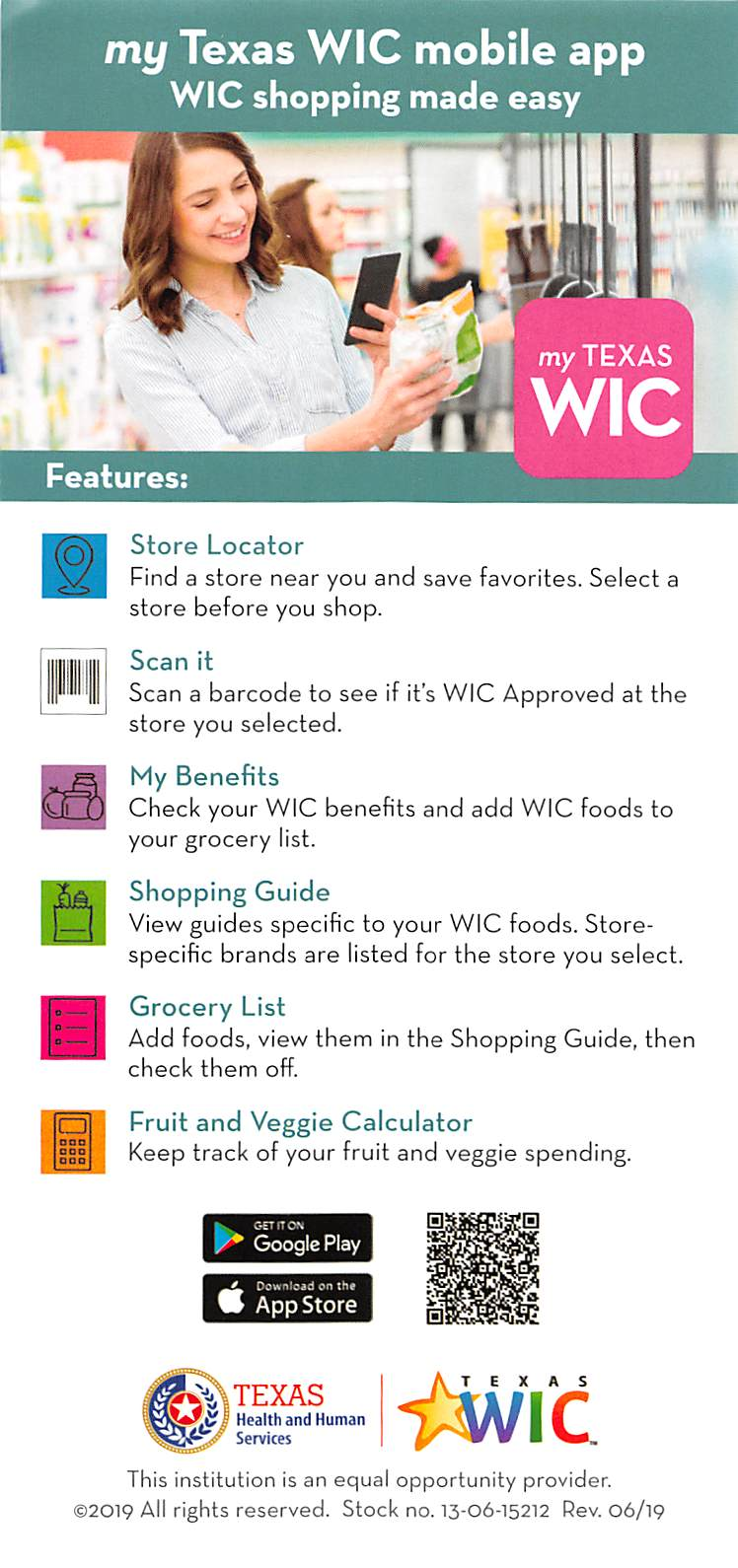 Texas WIC App Information